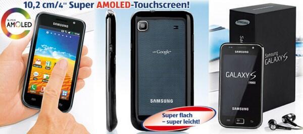 aktion Android angebot Galaxy S Samsung