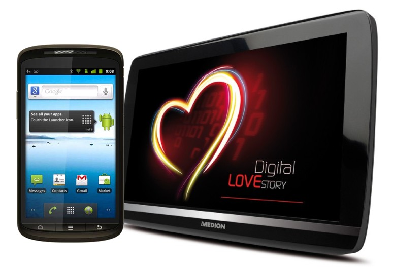 aldi Android lifetab medion Smartphone tablet