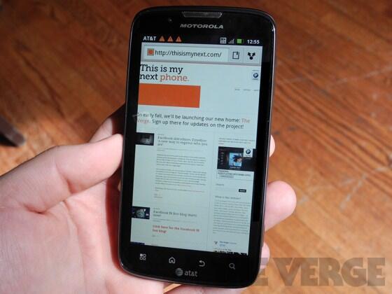 Android atrix Atrix 2 Leak Motorola