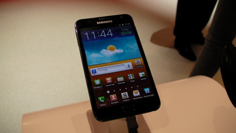 Android galaxy note Samsung shopping