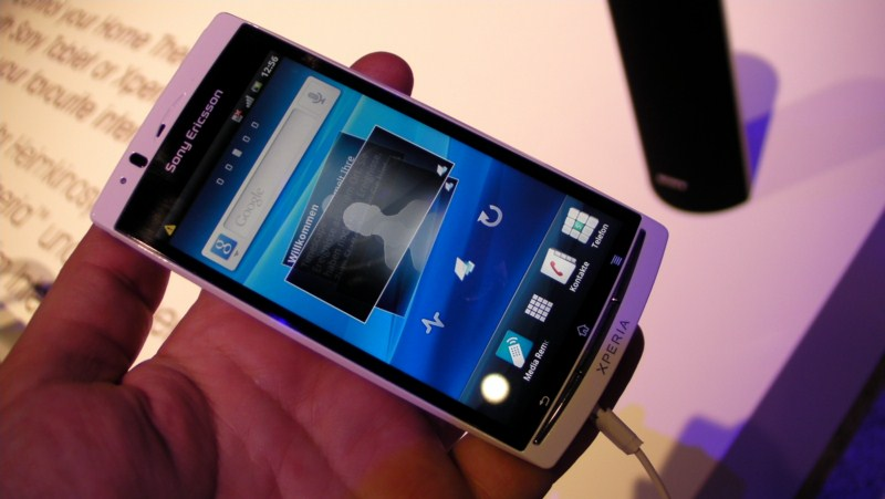 Android arc Ice Cream Sandwich ray Sony Ericsson Update wann Xperia