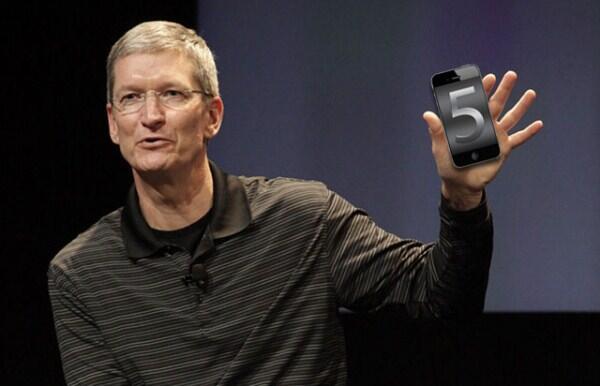 Apple appstore event iOS iphone 5 oktober tim cook