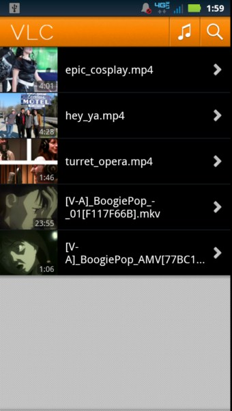 alpha Android Media Player Video vlc