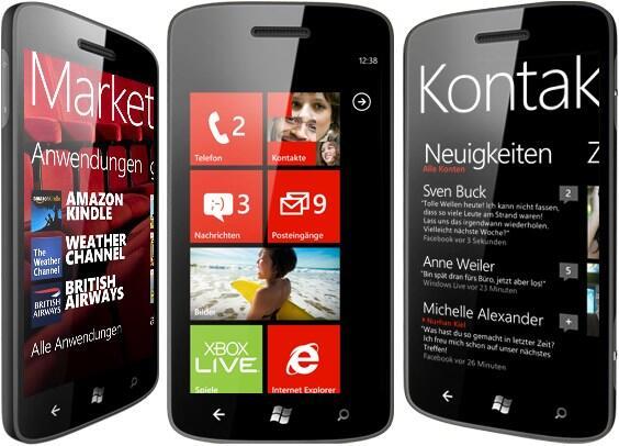 2012 microsoft Nokia Windows Phone