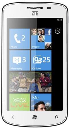 mango Windows Phone wp ZTE