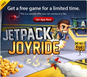 appstore halfbrick iOS iPad iphone jetpack joyride Kostenlos