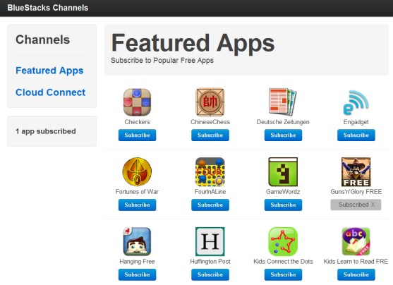 Android Apps Emulator pc windows 7