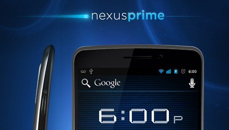 Android Google Ice Cream Sandwich nexus prime Samsung