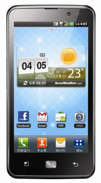 Android HD LG mwc2012