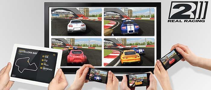 airplay mirroring Apple iPad 2 iphone 4s multiplayer TV