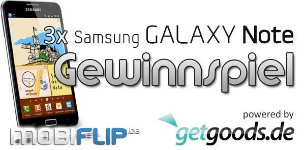Android galaxy note gewinn Gewinnspiel glück Samsung smartlet verlosung