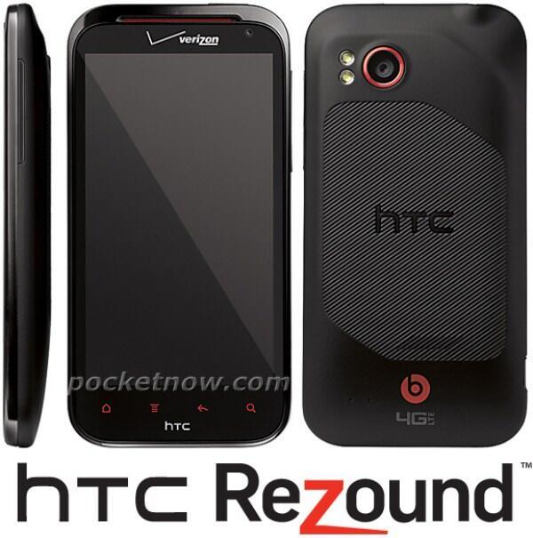 4G Android HTC Leak Rezound verizon