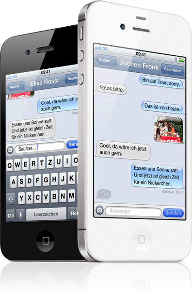 imessage iOS iPad iphone iPod Touch mms senden SMS