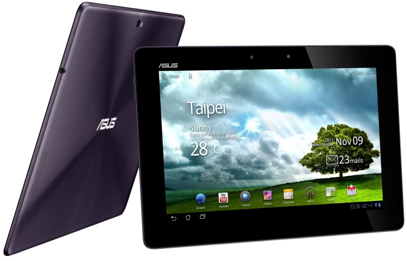 Android Asus prime tablet transformer webseite