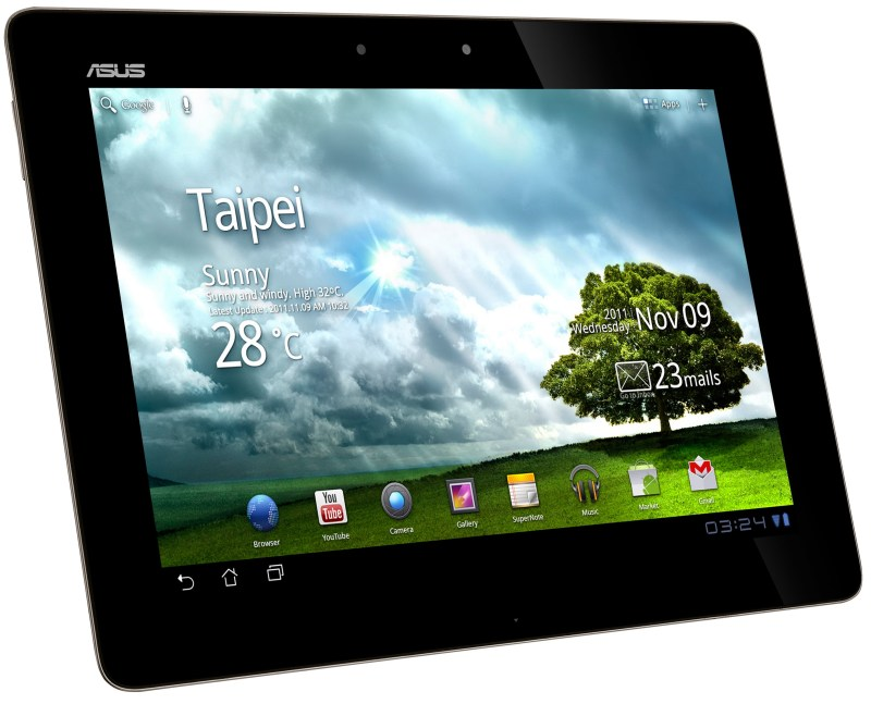 Android Asus tablet transformer