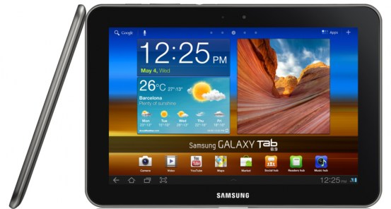 8.9 Android galaxy tab Samsung tablet