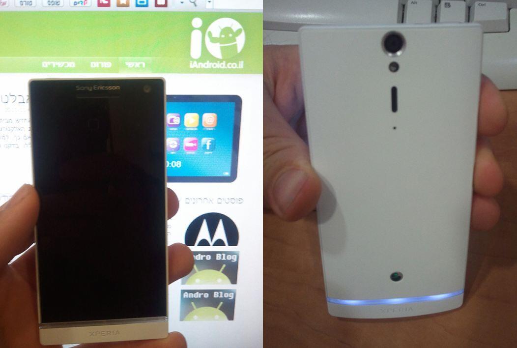 2012 Android ericsson Flaggschiff Nozomi Sony