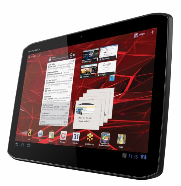 Android Motorola tablet xoom 2