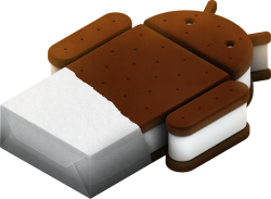 Android HTC Ice Cream Sandwich ICS