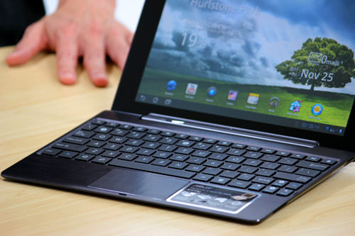 Android Asus Eee Pad test transformer prime Video