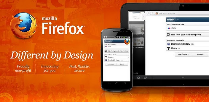 10% Android firefox market Mozilla tablet Update
