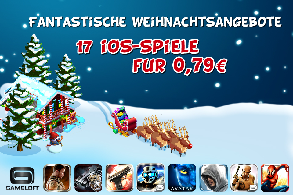 appstore gameloft iOS iPad iphone sale