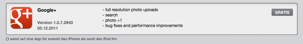 app Apple Google iPad iphone Update