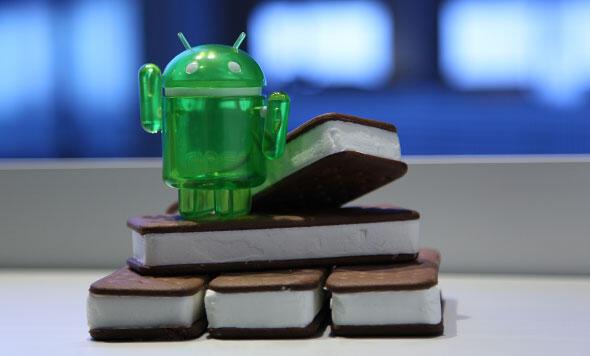Android Google Ice Cream Sandwich Motorola Sony Ericsson Update