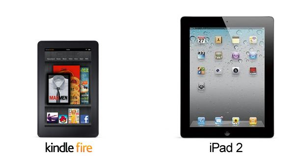 amazon Android Apple iPad Kindle Fire vergleich