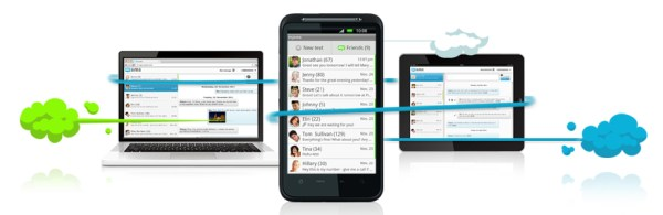 Android app mysms SMS Update