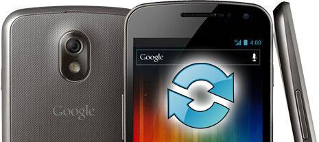 Android Galaxy Nexus Google ICS ota Update