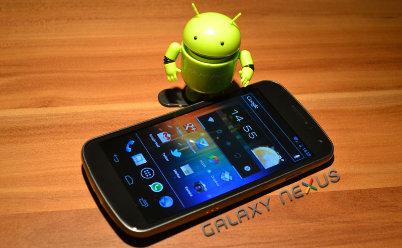 Android Galaxy Nexus Google review Samsung test Testbericht