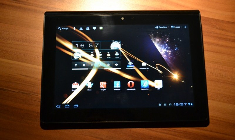 4.0 Android ICS Sony tablet p tablet s Update