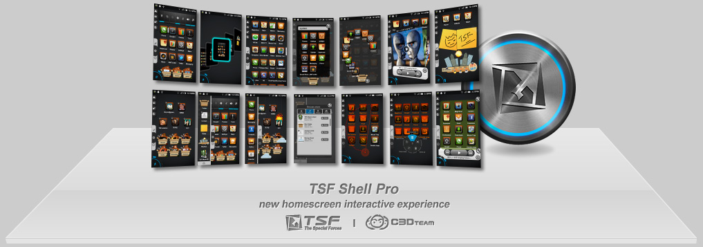Android launcher TSF
