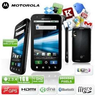 atrix deal Motorola Schnäppchen