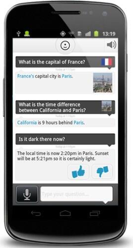 Android app iOS sprache suche System voice