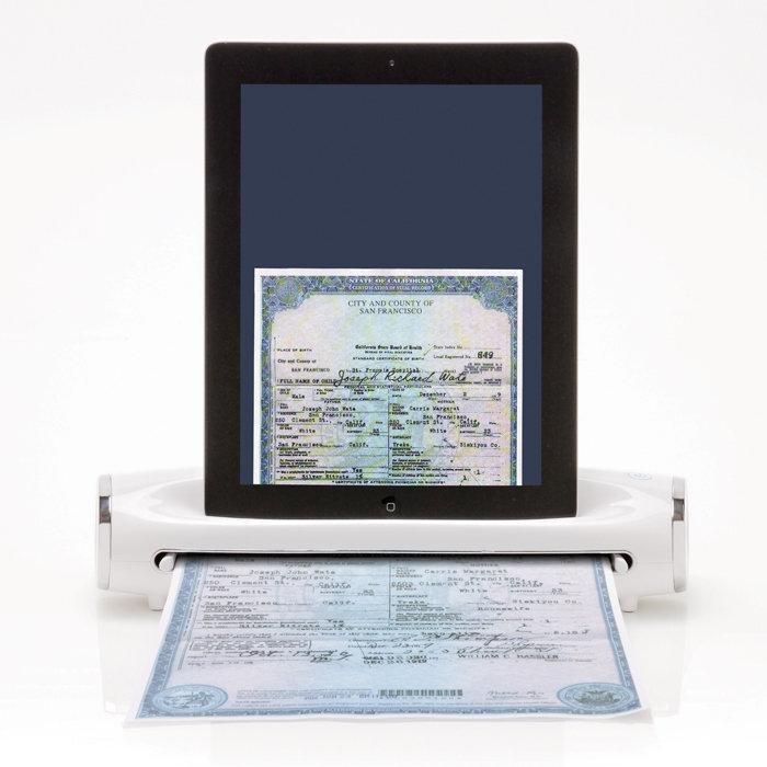 Apple gagdet iOS iPad scanner zubehör