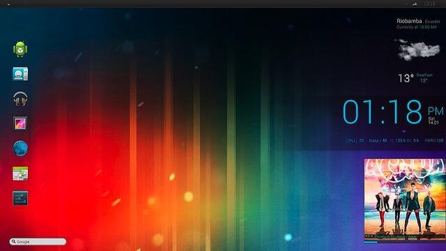 Android desktop Ice Cream Sandwich pc tipp Windows