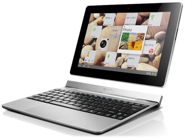 Android Dock Google hardware lenovo review tablet Tastatur Testbericht