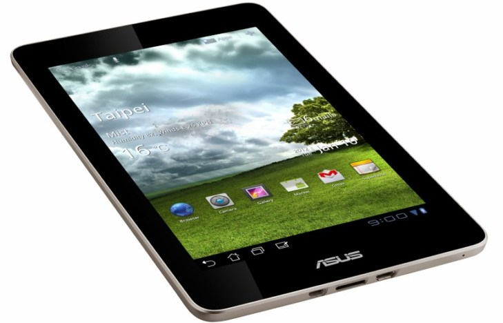 Android Asus ces2012 Eee Pad Memo tablet