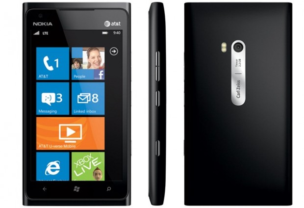 Nokia lumia 900 neues windows phone flaggschiff auf der ces 2012