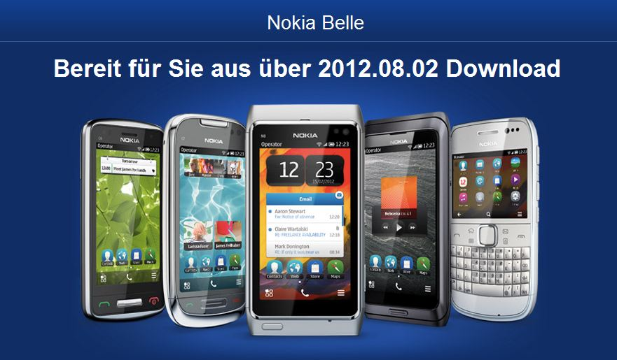 Belle Firmware Nokia Refresh Symbian Update