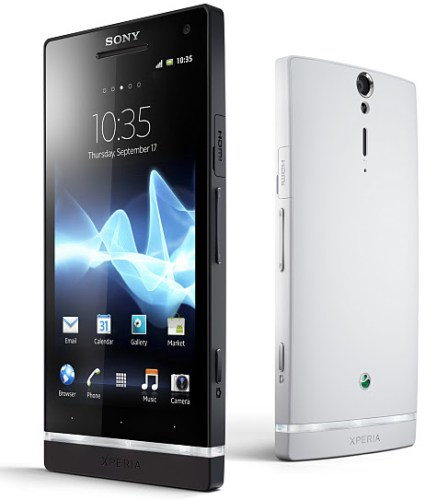 Android Browser demo Display HD screen Sony Video xperia s