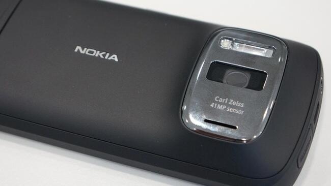 Fotos Kamera megapixel mwc2012 Nokia 808 Symbian