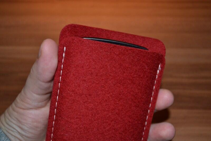 Almwild Galaxy Nexus sleeve tasche test