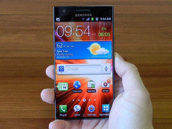 Android creen Display Gerücht SAMOLED Samsung Smartphones