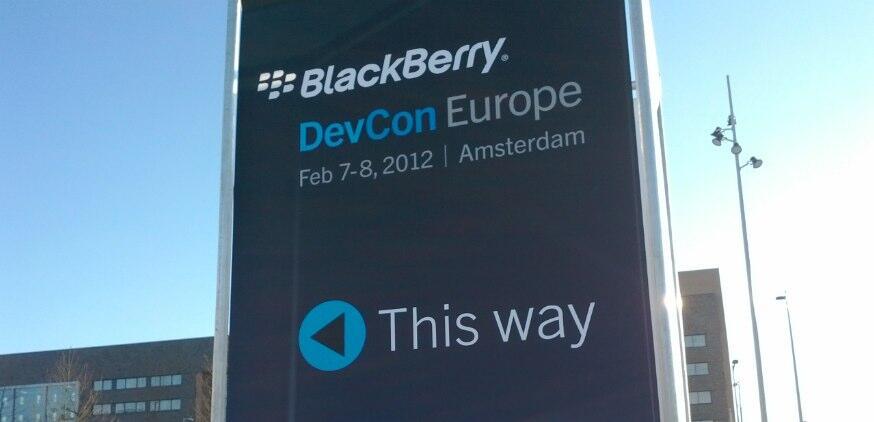 amsterdam BlackBerry-Apps entwickler europa konferenz playbook rim