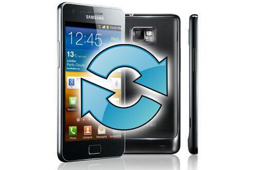 Android galaxy s2 ice ota Samsung Update
