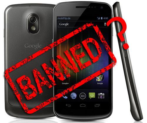 Android Apple Galaxy Nexus gericht klage Patente Samsung