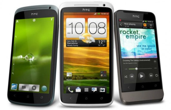 Android HTC one s one v one x shopping